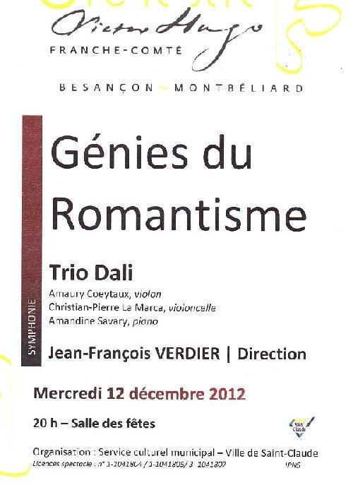 Concert du 12/12/12 - L'Orchestre Victor Hugo de Franche-Comté Prog1
