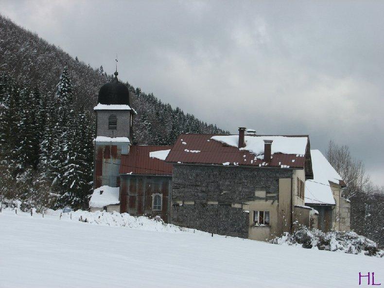 Dimanche de neige dans la vallée de la Valserine - 7 février 2010 0003