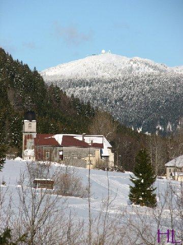 Dimanche de neige dans la vallée de la Valserine - 7 février 2010 0021