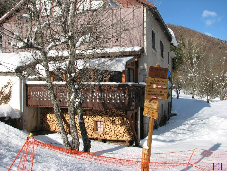 Dimanche de neige dans la vallée de la Valserine - 7 février 2010 0022