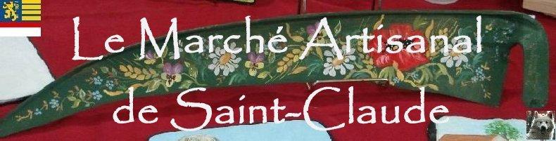 2007-07-24 : Marché artisanal de Saint-Claude (39) Logo