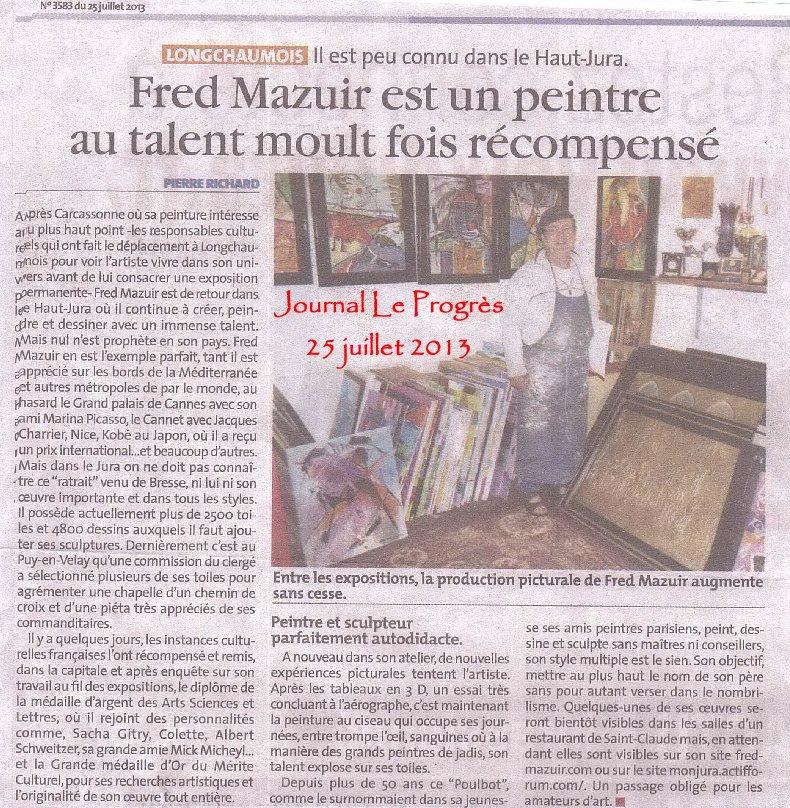 2013-09-04 : Médaille d'argent Arts - Sciences - Lettres 2013-07-25
