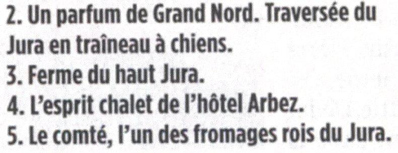 Le journal Le Point a un coup de foudre pour le Jura - 16 décembre 2010 0003