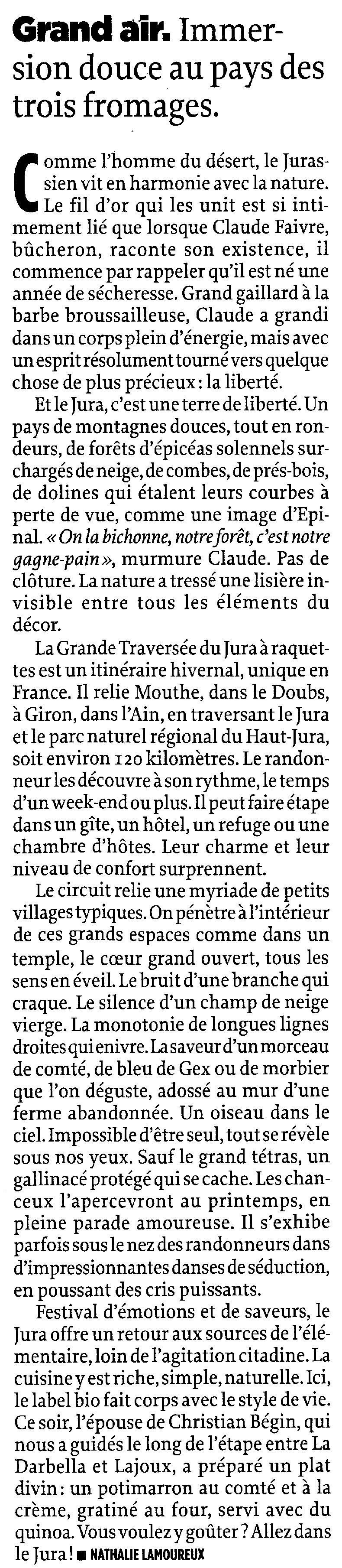 Le journal Le Point a un coup de foudre pour le Jura - 16 décembre 2010 0004