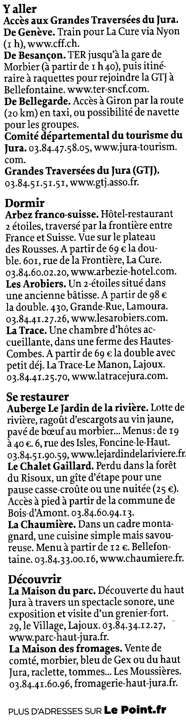 Le journal Le Point a un coup de foudre pour le Jura - 16 décembre 2010 0006